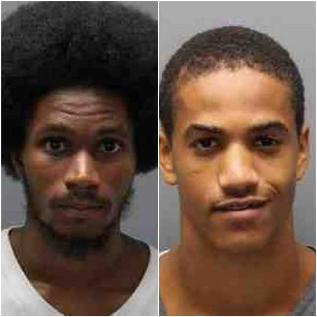 Floyd Bruce (right) and Lamont McLean have been charged in connection to the shooting of a 4-year-old girl and an armed robbery in Yonkers.