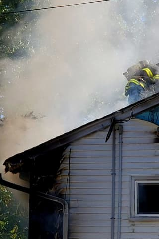 New Milford Firefighters Douse House Blaze