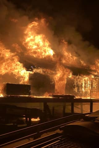 Silver Sands Fire Destroys Three Buildings Under Construction At State Park