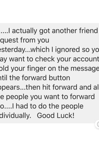 SCAM ALERT: Don't Forward 'Got Another Friend Request From You' Facebook PM -- It's A Hoax