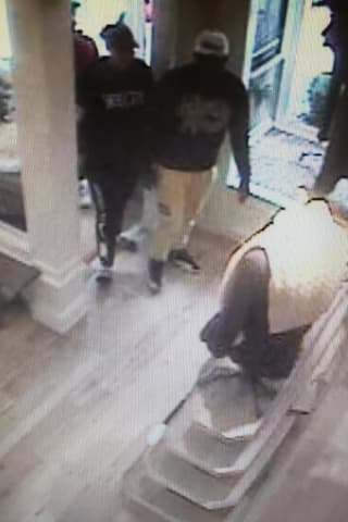 Know Them Or This Car? Suspects At Large After Separate Thefts At New Canaan Ralph Lauren Store
