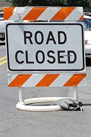 Construction Closes Stretch Of Elmwood Park's Market Street