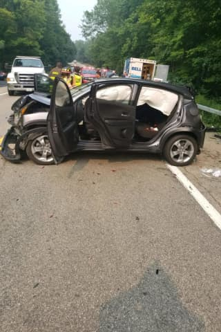 Two Seriously Injured In Multi-Vehicle Westchester Crash