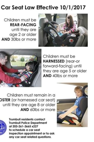 Check Your Kids Car Seat New CT Law Takes Effect On Child Restraints