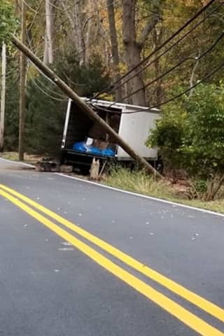 Piermont Road Closed After Sleeping Trucker Crashes In Rockleigh