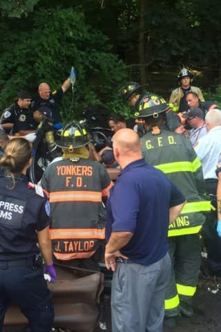 Two Extricated, One Seriously Injured In Sprain Parkway Crash