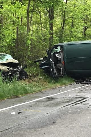 Hillcrest Woman Seriously Injured In Route 45 Crash