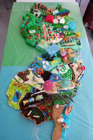 Feast Your Eyes On This New Jersey Cake By New Milford Students