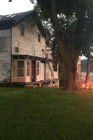 House Fire Breaks Out At Building In Peekskill