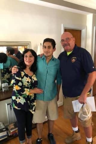 Police Officer Hailed As Hero For Saving Life Of Man Visiting Stamford