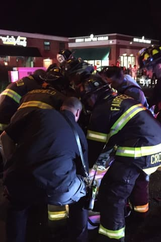 'Jaws Of Life' Used To Extricate Woman After Serious Crash In Fairfield