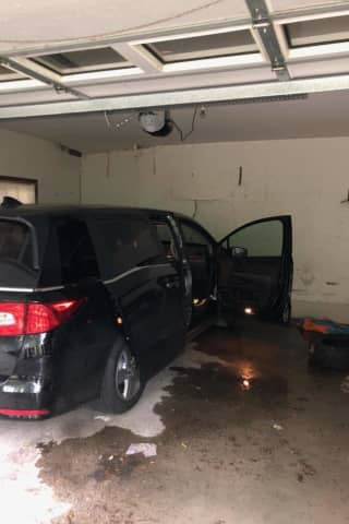 Driver Accidentally Hits Gas Pedal, Crashes Into Gas Meter At Wesley Hills Home