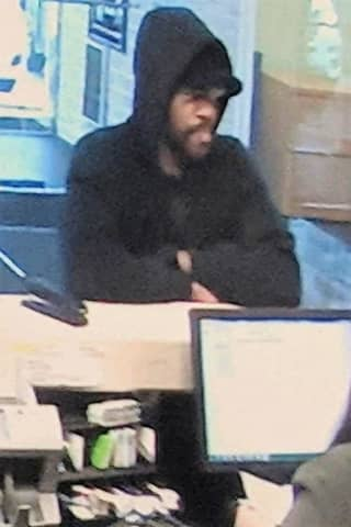 SEEN HIM? Hackensack Bank Robbed Of Nearly $950
