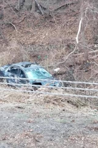 Person Trapped In Car After I-95 Crash Rescued By Westport Firefighters