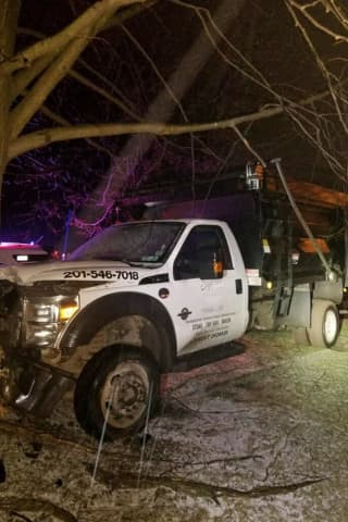 Drunk Driver Crashes Stolen Truck Into Tree In Rockland, Police Say