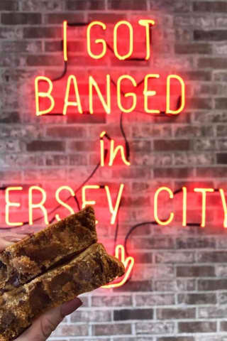 GET BANGED: Customers Spill Onto Sidewalk At Bang Cookies' Jersey City Opening
