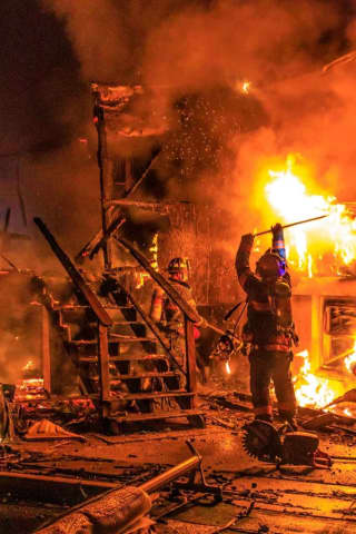 Two-Alarm House Fire Displaces Dutchess Family