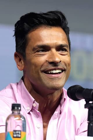 Actor Mark Consuelos Gets Heated At Son's Long Island HS Wrestling Tournament
