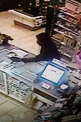 Pearl River 7-Eleven Armed Robbery Suspect On Loose