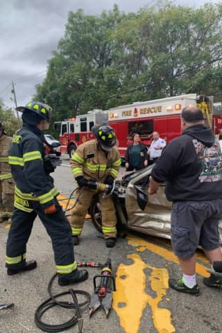 Motorist Extricated After Route 17 Crash In Hillburn