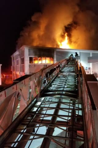 Popular Pizzeria Damaged After Fire Breaks Out At Greenwich Strip Mall