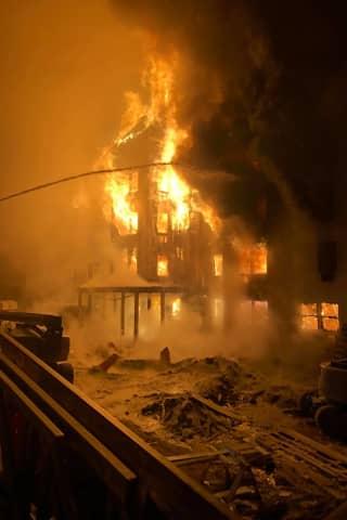 Three-Alarm Fire Destroys Senior Housing Complex In Northern Westchester
