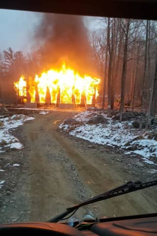 Morning Fire Destroys Putnam Home