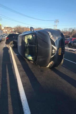 Route 59 Reopens Following Single-Vehicle Crash