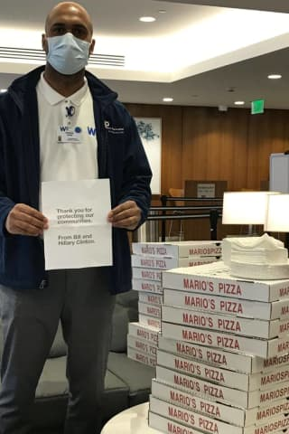 COVID-19: Bill, Hillary Clinton Order Pizzas For Hospitals In Westchester County