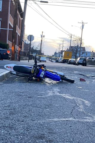 Motorcyclist Critical Following Crash With Vehicle, Bridgeport Police Say