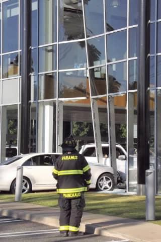 Driver, 78, Slams Sedan Into Route 17 Mercedes Dealership, Closes Showroom