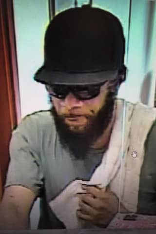 Search On For Boston Post Road Bank Robbery Suspect