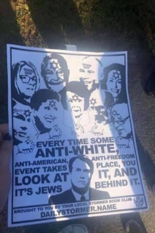Hate Flyers Linked To Neo-Nazi Group Found At Two Area Colleges