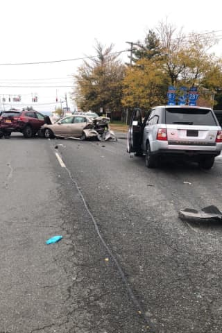 Serious Crash With Multiple Injuries Shuts Down Route 59 Stretch