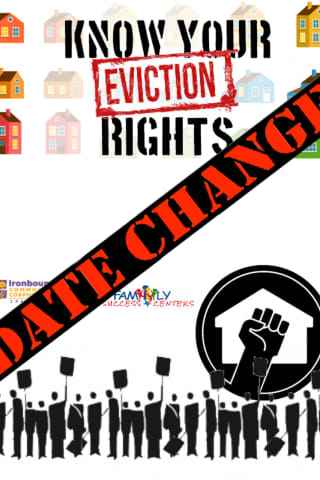 UPDATE: Newark Tenants' Rights Workshop To Be Rescheduled