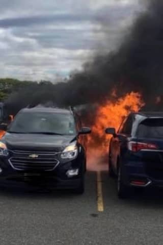 Hot Coals Caused Fire That Scorched 7 Cars During NY Jets Game
