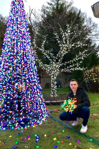 Lights Out: Final Year For Demarest Teen's Christmas Display