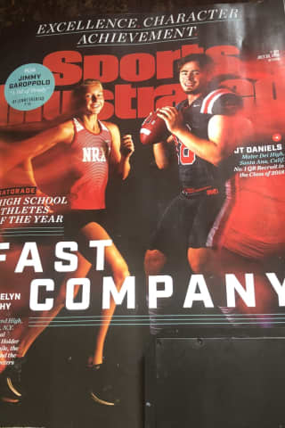 Rockland Star Sports Illustrated Cover Girl As National HS Athlete Of Year