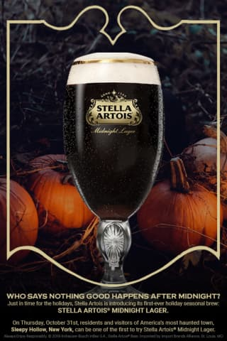 Stella Artois To Pop The Top On New Beer In Sleepy Hollow On Halloween
