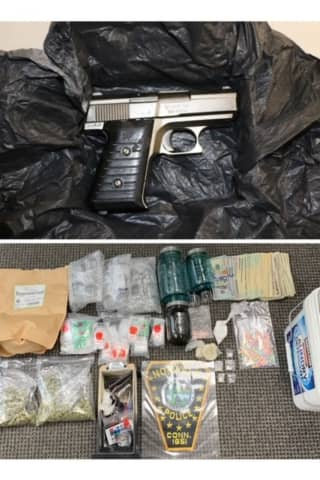 Bloods Gang Member Busted With Gun, Drugs During Raid In Norwalk