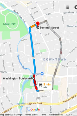 Expect Heavy Traffic Delays In Downtown Stamford Due To Construction Work