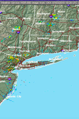 Severe Thunderstorm Watch In Effect For Westchester