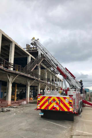 One Injured In Stamford Structure Collapse