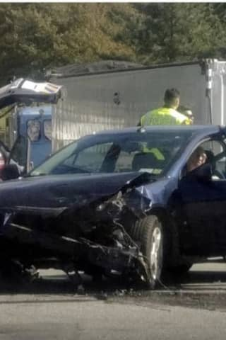 High-Speed Chase, Crash Injures Officer, Shuts Down Route 9A In Westchester