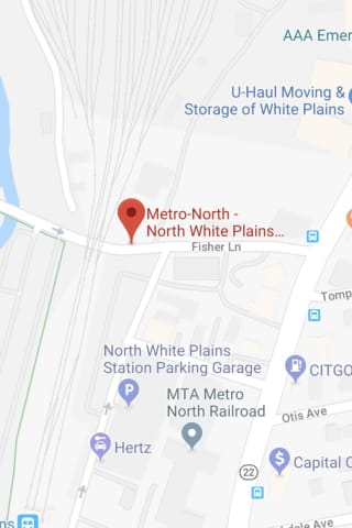 Flammable Materials In Car Explode Near Metro-North Station
