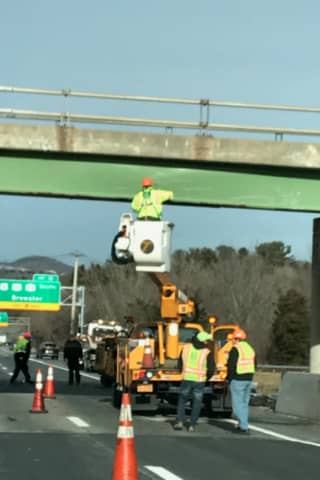 I-684 Reopens After Tractor-Trailer Crashes Into I-84 Overpass Exit Ramp