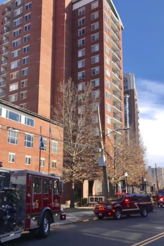 Firefighters Rush To Luxury High-Rise In Stamford After Fire Breaks Out In Pump Room