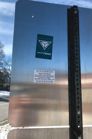 White Supremacist Stickers, Posters Spotted In Northern Westchester