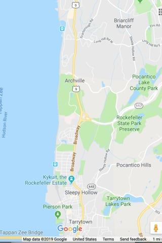 Fallen Trees Force Major Route 9 Closure In Westchester