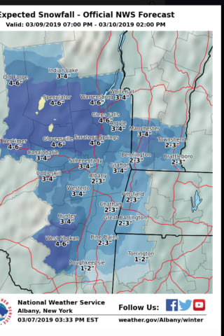 Storm System Will Bring Snow, Wintry Mix As We Spring Ahead For Daylight Saving Time